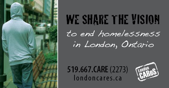 We share the vision to end homelessness in London, Ontario. #londonCAReS