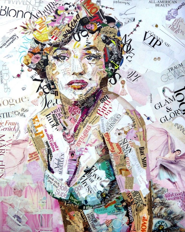 famous paper collage artists