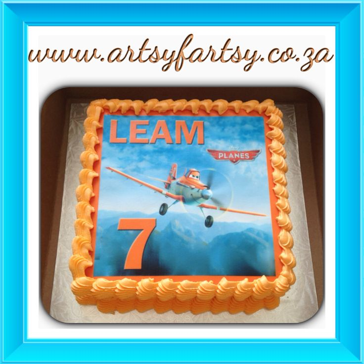 Disney Planes Edible Picture Cake