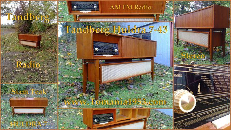 Tandberg Huldra 7 - 43 STEREO Radio Cabinet