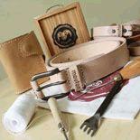 Belt -Mouton leatherworks