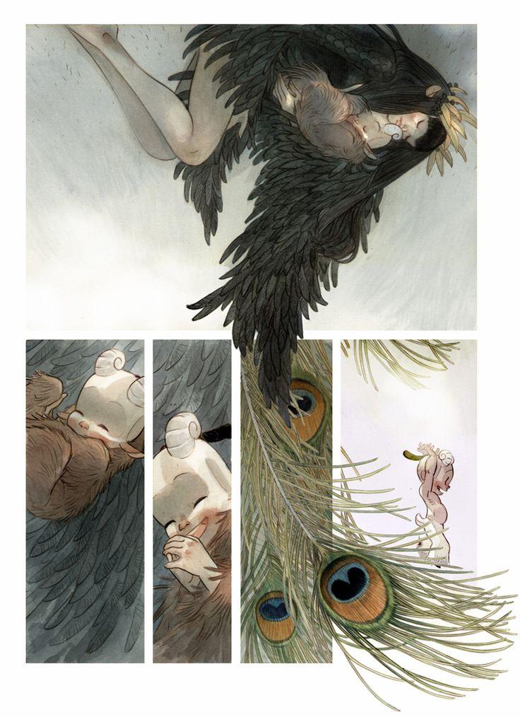 man arenas - Yaxin the Faun - Graphic novel - comic page.