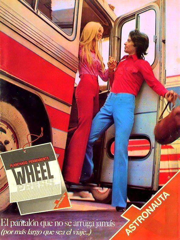 Pantalones ASTRONAUTA, 1973.