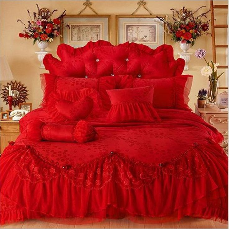 les 25 meilleures id es de la cat gorie housse de couette rouge sur pinterest housses de. Black Bedroom Furniture Sets. Home Design Ideas