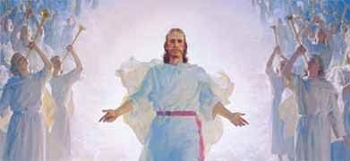 Resurrected Jesus Christ - God's Plan of Salvation. He's coming back some day :)