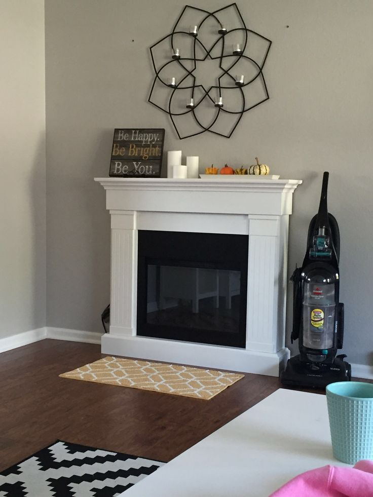 Slim Crawford Electric Fireplace | My First House | Pinterest ...