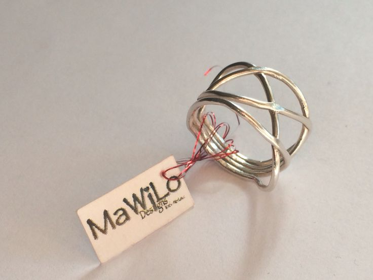 MaWiLo Designs  Sterling silver ring mawilodesigns@gmail.com