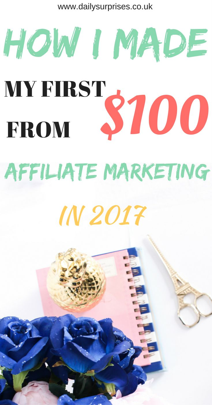 Are you struggling to make money blogging? Do you want to know how other people are making money online? This post will show you how I made my first $100 through Pinterest. To check out the strategy I used to make money from home, click on the pin! #make money #affiliate marketing #affiliate marketing tips #Pinterest Strategy #make money from home