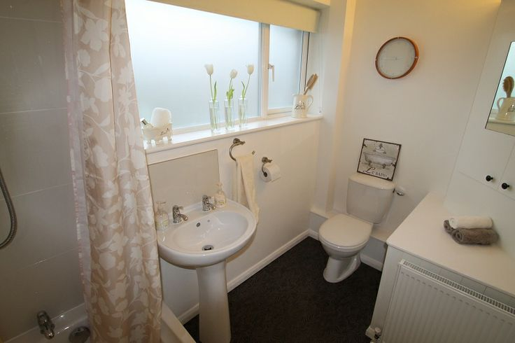 Bathroom after styling