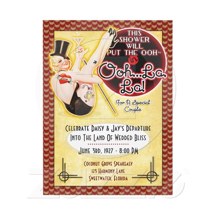 62 best Vintage Bridal Shower Invitations images on Pinterest ...