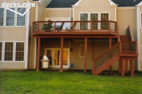 Best 25 High Deck Ideas On Pinterest Second Story Deck