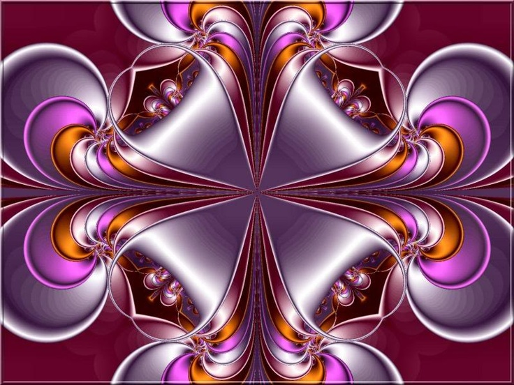 holiday fractal art