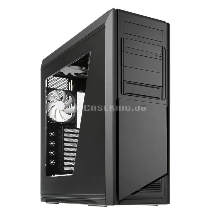 NZXT Switch 810 Big-Tower - mattschwarz