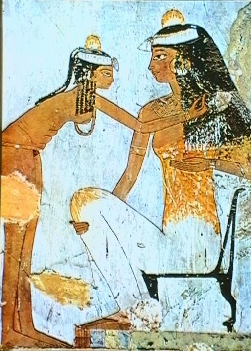 51 best Egyptian Wall Paintings images on Pinterest ...