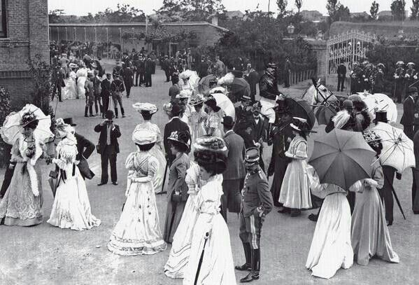 Hipódromo de la Castellana - Madrid 1902