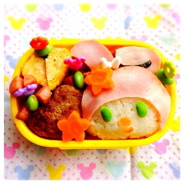 4才の娘のお弁当です。 キャラ弁初心者です^_^ - 26件のもぐもぐ - マイメロちゃん お弁当 by ひなうた