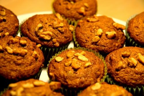 Healthy Recipe: Pumpkin Zucchini Muffins