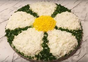 Салат «Ромашка» простой, вкусный и очень праздничный. Готовить мы его будем из куриной печени и ароматных шампиньонов. Получается он красивый, нежный и сытный. Такой салат станет украшением любого...