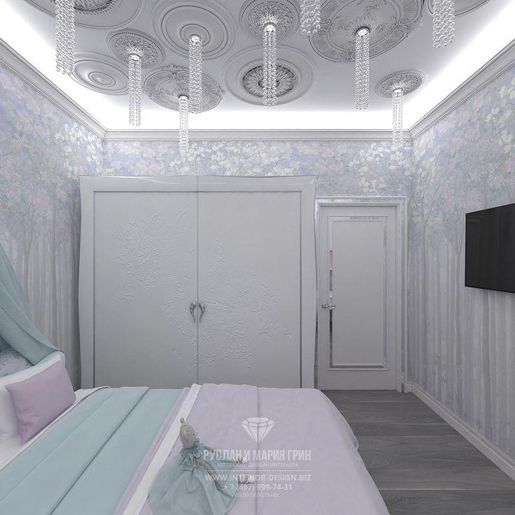 Дизайн квартиры в современном стиле. Фото интерьера детской