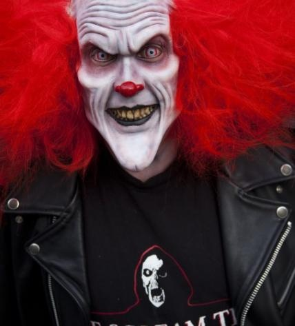 The Clown | The Scream Team | Hollywood Quality Foam Latex Appliance | Evil Clown Make-up