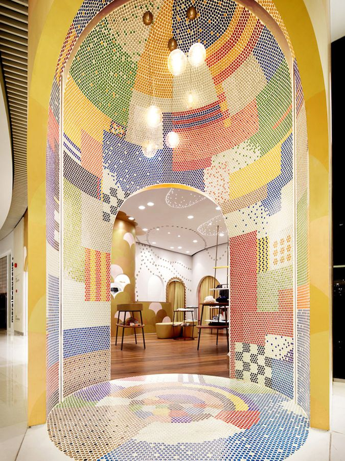 Tsumori Chisato Shanghai Shopping Igarashi Design Studio Interior BlogsDesign InteriorsCommercial