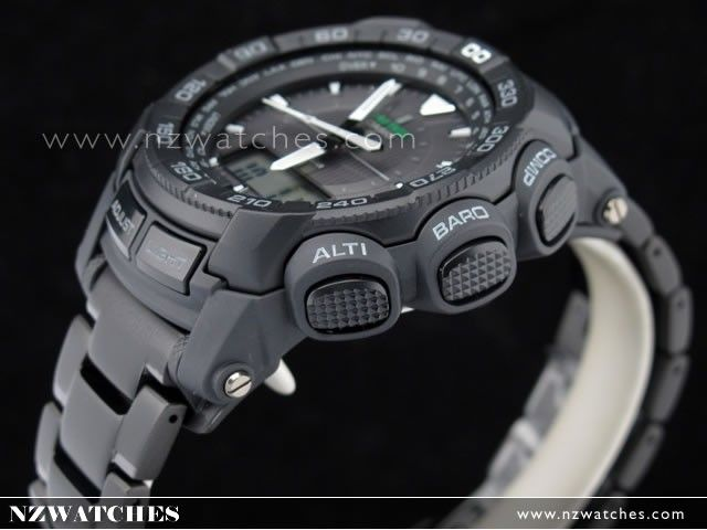 Casio Protrek Triple Sensor Tough Solar Black IP Sport Watch PRG-550BD-1, PRG550BD- Buy Watches Online | Casio NZ Watches