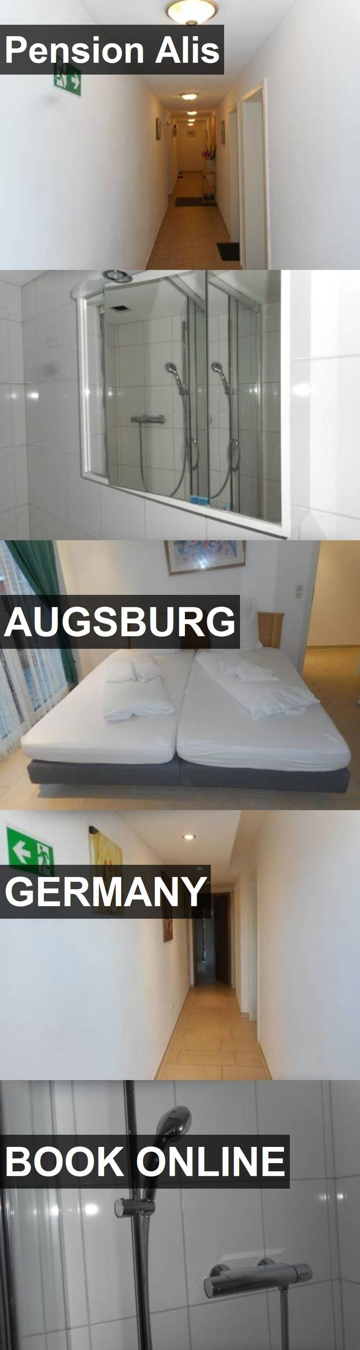 Hotel Pension Alis in Augsburg, Germany. For more information, photos, reviews and best prices please follow the link. #Germany #Augsburg #travel #vacation #hotel