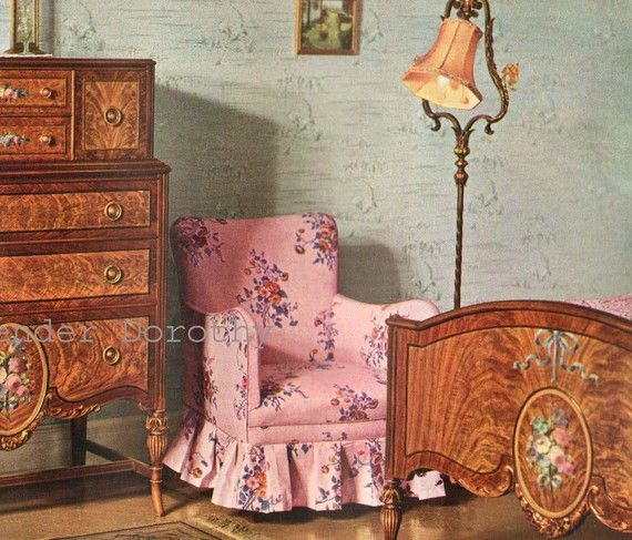 Bedroom Parlor Furniture Berkley And Gay Furniture Company Advertisement Lithographs To Frame