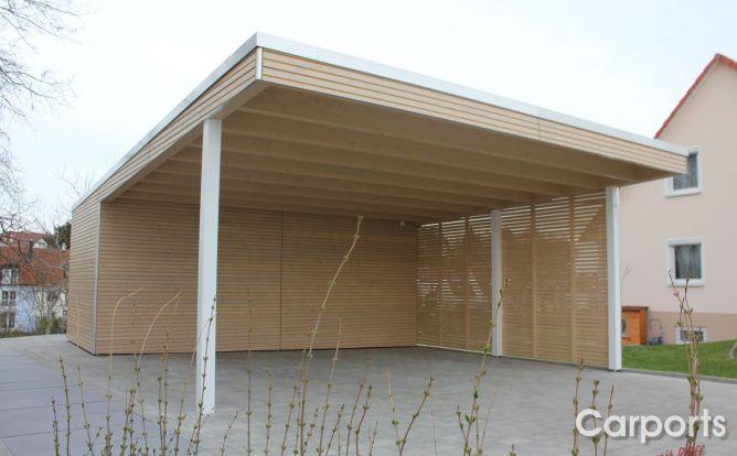 Carport Bauhaus Rhombo Die Robuste Und Vielfaltige Variante In 2020 Carport Mit Abstellraum Carport Outdoor Dekorationen