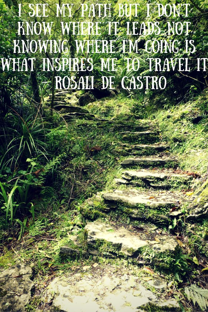 Inspiring Quote About Hiking - Gemma Jane Adventures