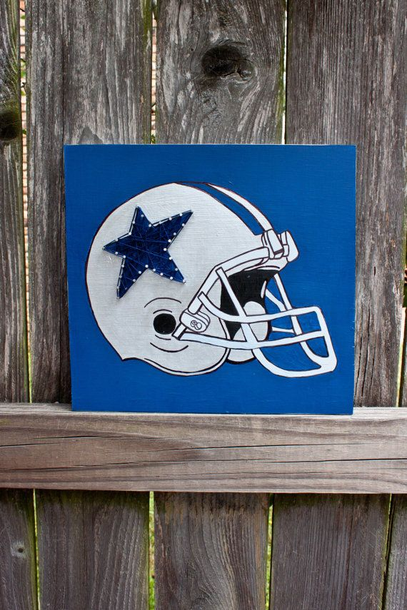 Dallas Cowboys String Art And Painting Wooden By