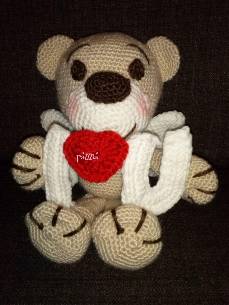 Orso S.Valentino crochet