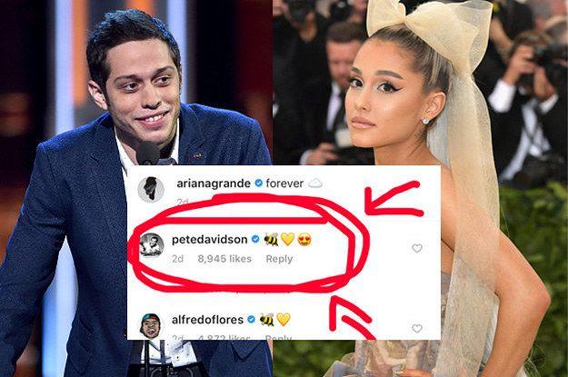 Ok Ariana Grande Has Some Messy Insta Stuff Happening With Antonio