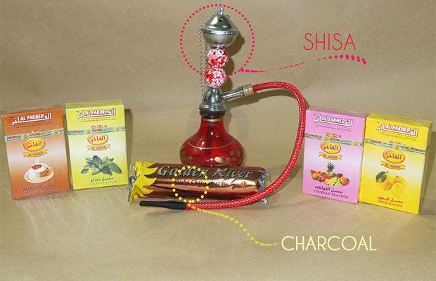 Shisha dengan model classic dan ukuran mini. Rp 130.000