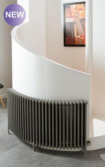 The Radiator Company - bespoke curved bay window radiators