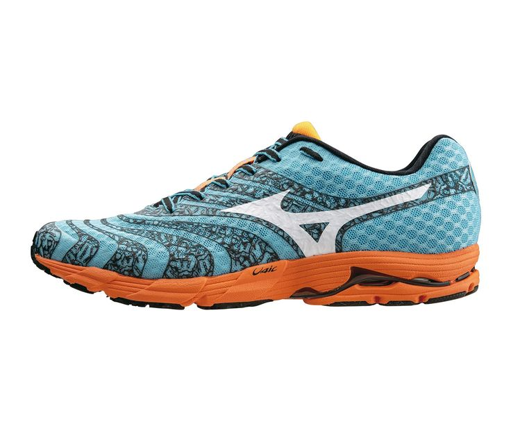 MIZUNO WAVE SAYONARA 2 TURQUESA/NARANJA · WaveRunning FootwearRacingGolfJoggingTrail Running