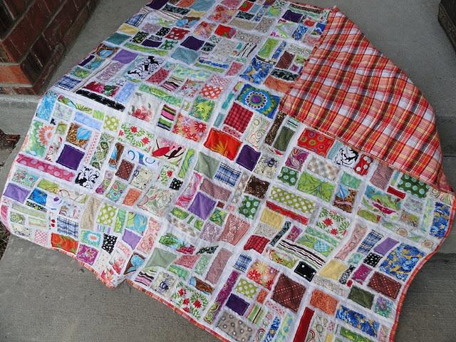 Fun to do quilt: Scrap Quilts, Sewing, Scraps Quilt, Edge Mosaic, Mosaics, Oxfords, Mosaic Tiles