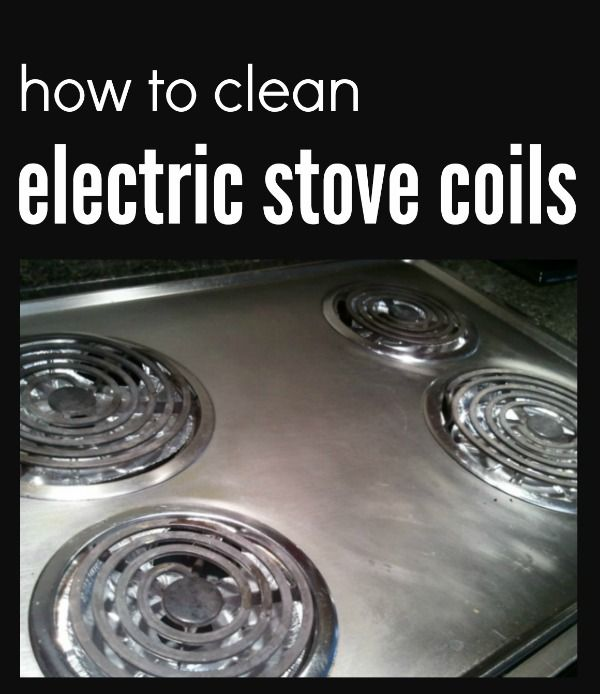 Trying To Figure Out How To Clean Your Electric Stove Coil
