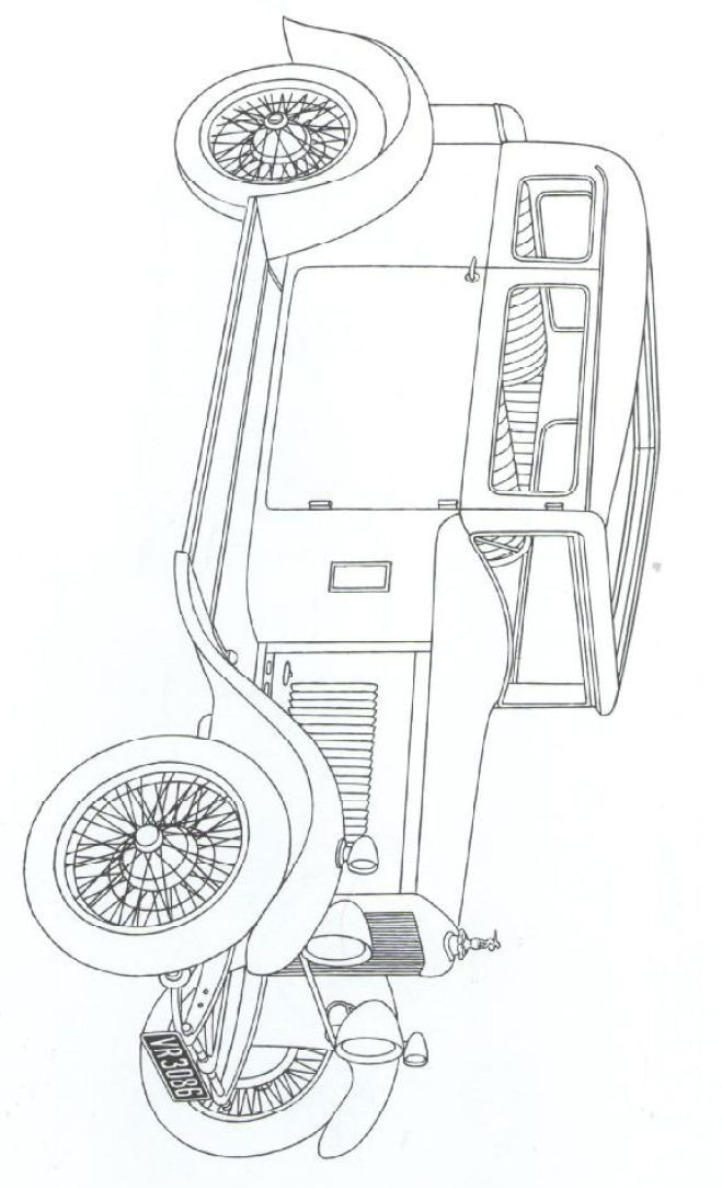 33 coloring pages of Classic cars on Kids-n-Fun.co.uk. On