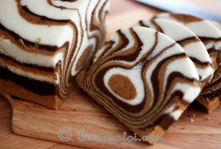 Zebra oh zebra...Egg White Cake