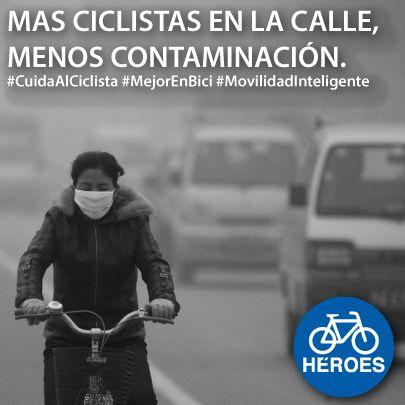 CALIDIGITAL Campaña ciclistas #Contaminación #MejorEnBici