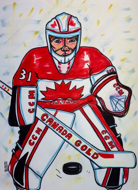 Goalie Carey Price Sochi 2014 Olympic Gold Winner Also Montreal Canadian Goalie
