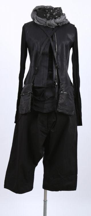 serien° umerica - Lederweste black - stilecht - mode für frauen mit format...