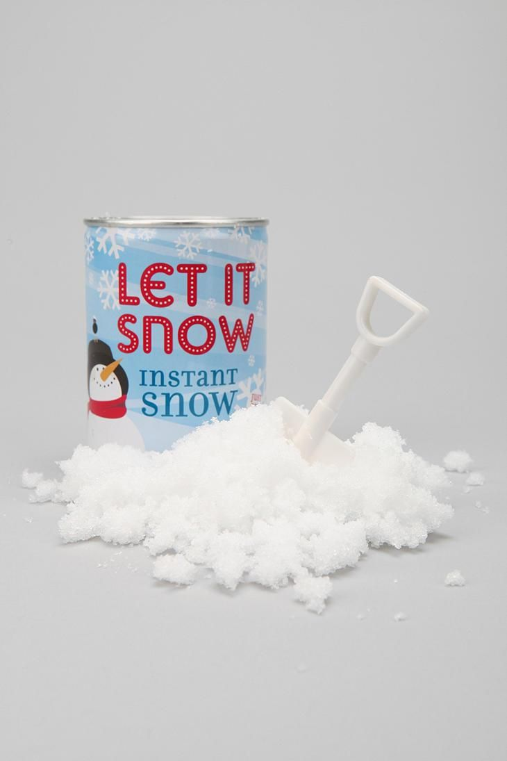 Snow In A Can #urbanoutfitters