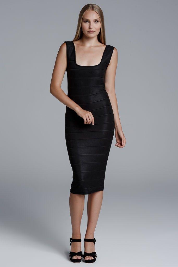CKONTOVA bodycon dress for those who dares... Black