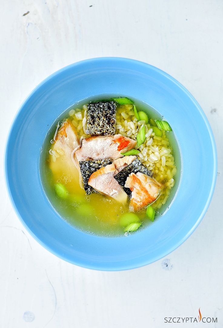 green tea soup