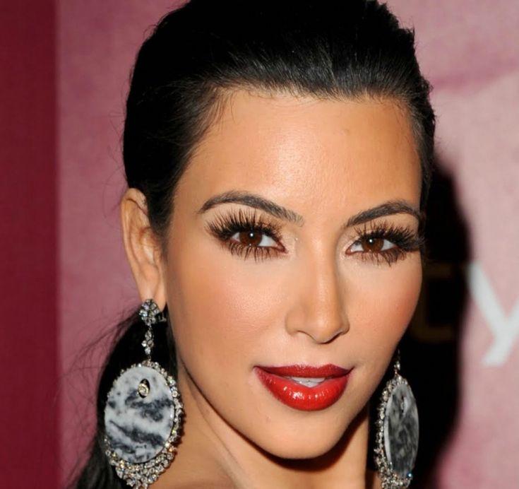 Ombre Lippen rot Kim Kardashian #beauty #makeup