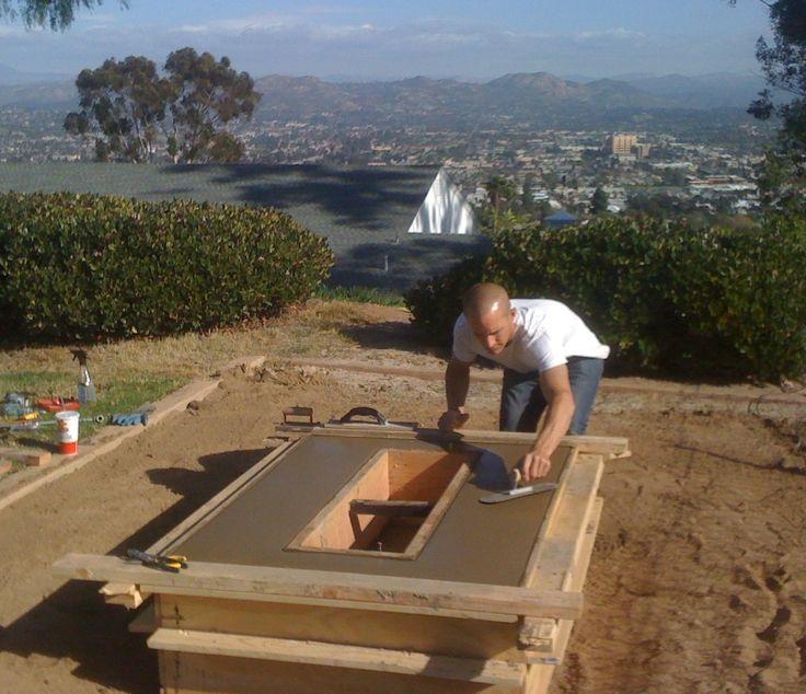 DIY Rectangular Fire Pit