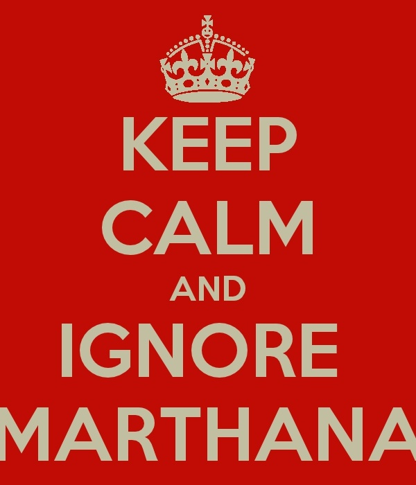 this marthana is driving me bonkers!