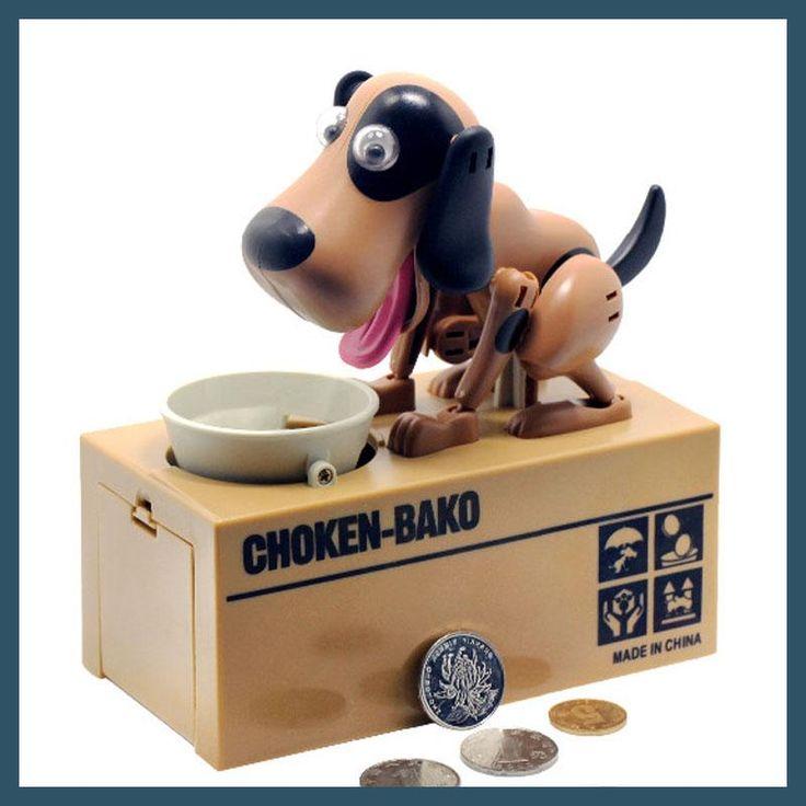 Robotic Dog Banco Canino kids Money Box Money Bank Automatic Stole Coin large Piggy Bank Money Saving Box Moneybox Gifts for kid